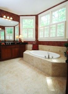 Bathroom remodeling richmond va gutter protection for Bath remodel lafayette la